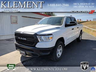 New 2019 Ram 1500 TRADESMAN CREW CAB 4X4 5'7 BOX Crew Cab 1C6SRFGT9KN561523 for sale in Decatur, TX