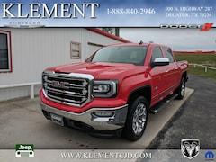 Used 2016 GMC Sierra 1500 SLT Truck Crew Cab for sale in Decatur, TX