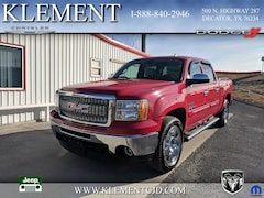 Used 2011 GMC Sierra 1500 SLE Truck Crew Cab for sale in Decatur, TX