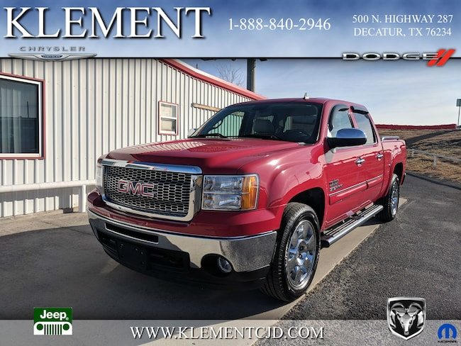 Used 2011 GMC Sierra 1500 SLE Truck Crew Cab in Decatur