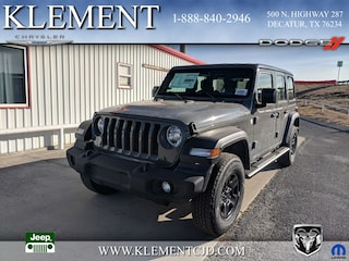 New 2018 Jeep Wrangler UNLIMITED SPORT 4X4 Sport Utility 1C4HJXDN8JW305274 for sale in Decatur, TX