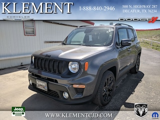 New 2019 Jeep Renegade ALTITUDE FWD Sport Utility ZACNJABB3KPJ82875 for sale in Decatur, TX