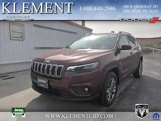 New 2019 Jeep Cherokee LATITUDE PLUS FWD Sport Utility 1C4PJLLB7KD393324 for sale in Decatur, TX