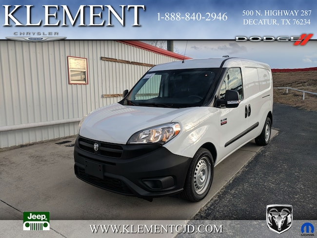 New 2018 Ram ProMaster City TRADESMAN CARGO VAN Cargo Van ZFBERFABXJ6L77726 Decatur