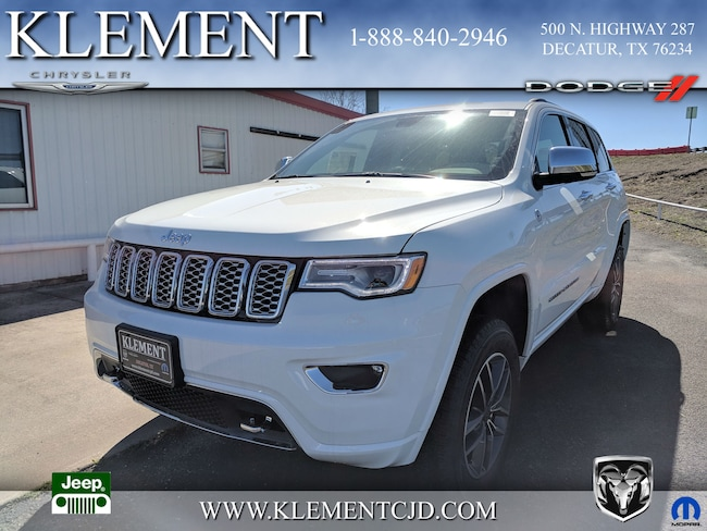 New 2019 Jeep Grand Cherokee OVERLAND 4X4 Sport Utility 1C4RJFCG2KC668979 Decatur