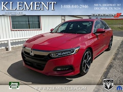 Used 2018 Honda Accord Sport Sedan for sale in Decatur, TX