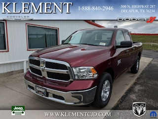 New 2019 Ram 1500 CLASSIC TRADESMAN QUAD CAB 4X2 6'4 BOX Quad Cab 1C6RR6FG8KS629301 for sale in Decatur, TX