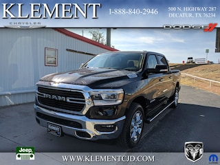 New 2019 Ram 1500 BIG HORN / LONE STAR CREW CAB 4X2 5'7 BOX Crew Cab 1C6RREFTXKN509585 for sale in Decatur, TX