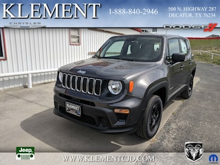New 2019 Jeep Renegade SPORT 4X4 Sport Utility ZACNJBAB2KPJ97049 for sale in Decatur, TX