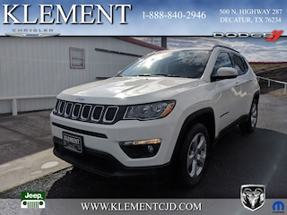 New 2019 Jeep Compass LATITUDE FWD Sport Utility 3C4NJCBB4KT699710 for sale in Decatur, TX