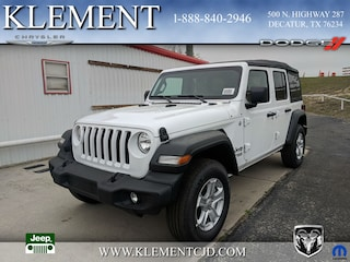 New 2018 Jeep Wrangler UNLIMITED SPORT S 4X4 Sport Utility 1C4HJXDG8JW127979 for sale in Decatur, TX