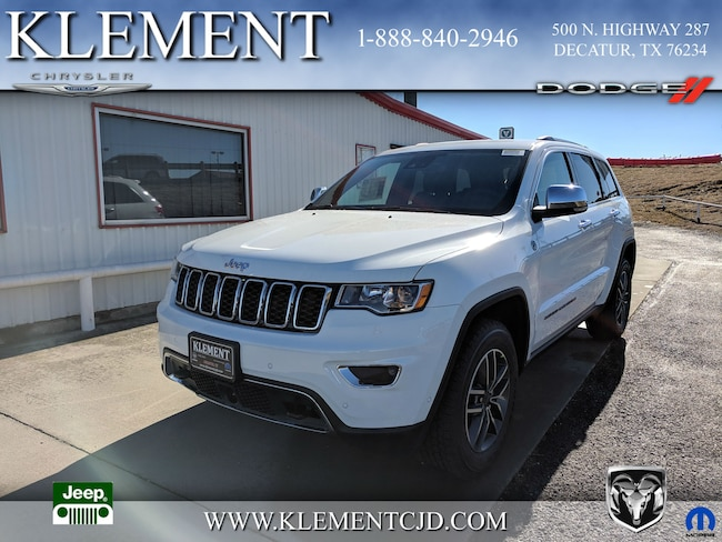 New 2019 Jeep Grand Cherokee LIMITED 4X4 Sport Utility 1C4RJFBG2KC598112 Decatur