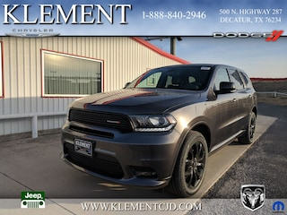 New 2019 Dodge Durango GT PLUS RWD Sport Utility 1C4RDHDG1KC559172 for sale in Decatur, TX