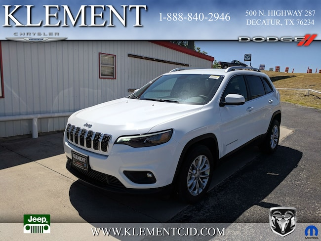 New 2019 Jeep Cherokee LATITUDE FWD Sport Utility 1C4PJLCXXKD221557 Decatur