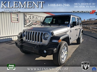 New 2018 Jeep Wrangler UNLIMITED SPORT S 4X4 Sport Utility 1C4HJXDG5JW105549 for sale in Decatur, TX