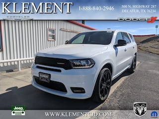 New 2019 Dodge Durango GT PLUS RWD Sport Utility 1C4RDHDG9KC632367 for sale in Decatur, TX