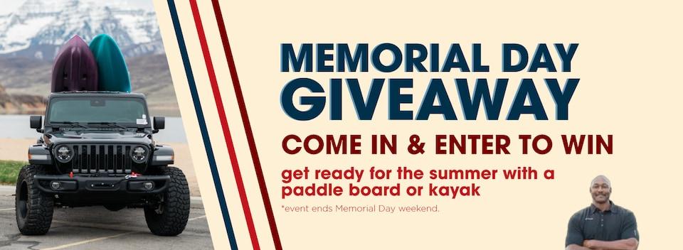 Enter to Win Paddleboard and Kayak