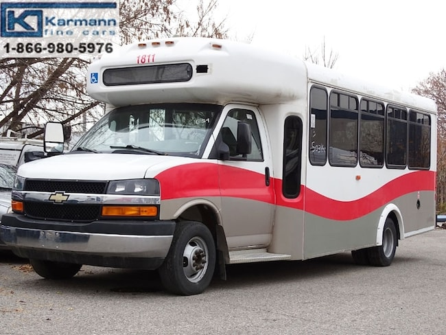 2013 Chevrolet Express 3500 4500 159 WB Diesel 22 Passengers Accident Free  Commercial