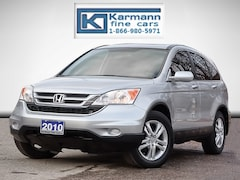 2010 Honda CR-V EX-L|AWD|Leather|Heated Seats|Sunroof|Low Kms| SUV