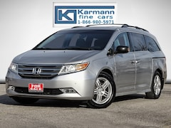 2012 Honda Odyssey Touring|Leather|Back Up Cam|DVD|Sunroof| Minivan
