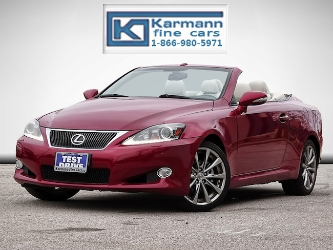 2013 LEXUS IS250C Convertible|Navi|Leather|Back Up Cam|Cooled Seats| Convertible