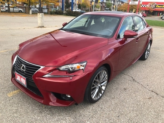 2015 LEXUS IS 250 AWD|Sunroof|Navi|Leather|Back Up Cam|One Owner| Sedan