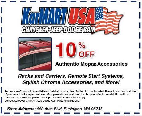 Used Car Specials & Deals in Burlington, WA | KarMART CJDRF