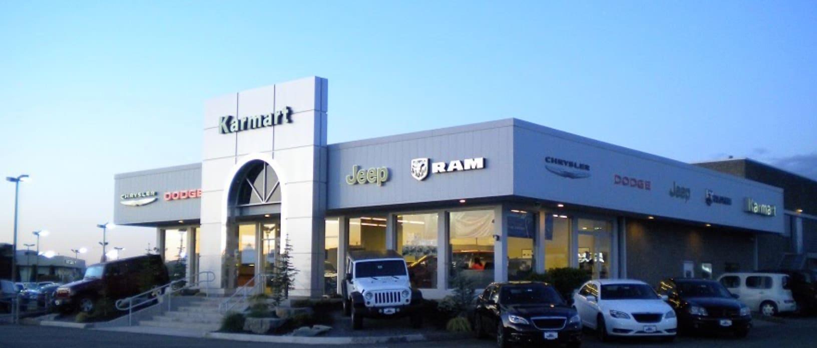 Chrysler Jeep Dodge Ram FIAT Dealership   KarMART CJDRF