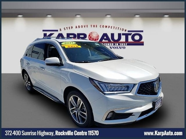 2017 Acura MDX V6 SH-AWD with Advance & Entertainment Packages SUV for sale in Rockville Centre, NY at Karp Kia
