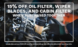 15% OFF Oil Filter, Wiper Blades & Cabin Filter