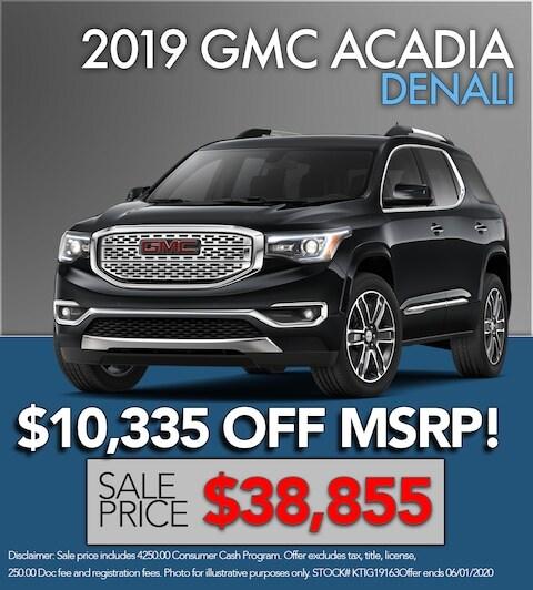 2019 GMC Acadia Denali