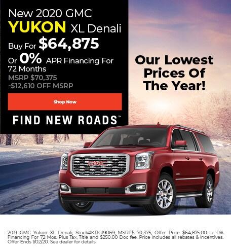 December | 2020 GMC Yukon XL Denali