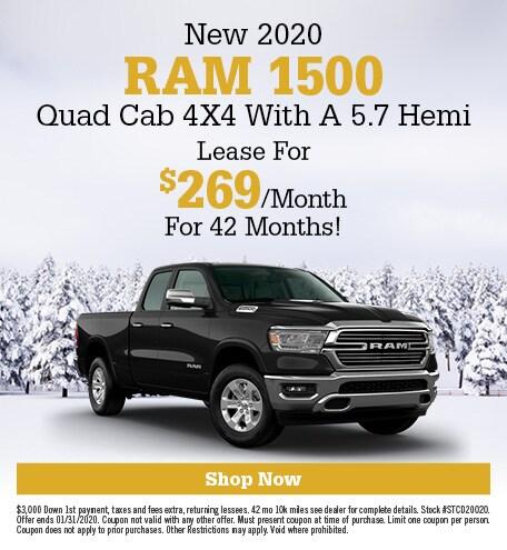 January | 2020 Ram 1500