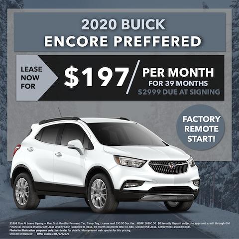 2020 Buick Encore Preferred (w/Remote Start!) -- Lease For $197/mo