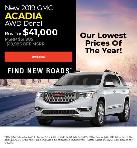 December | 2019 GMC Acadia AWD Denali