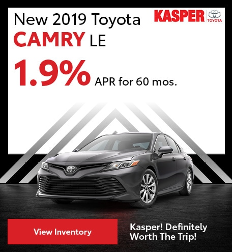 December | 2019 Camry LE