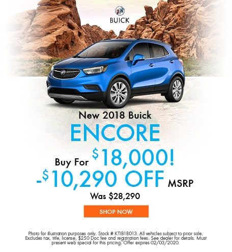 January | 2018 Buick Encore