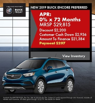 November Buick Encore Preferred - Financing Special
