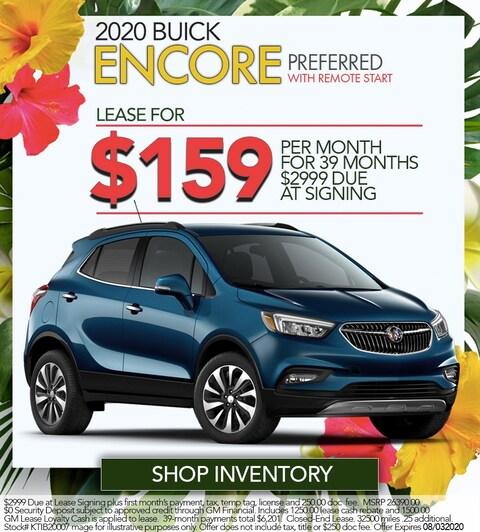2020 Buick Encore Preferred - W/Remote Start - Lease For $159/mo!