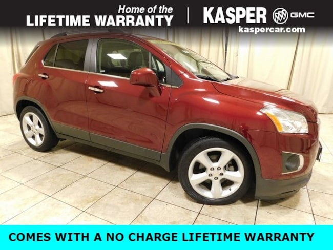Used 2016 Chevrolet Trax For Sale At Kasper Buick Gmc Vin