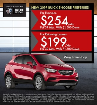 Buick Encore Preferred Leasing Offer