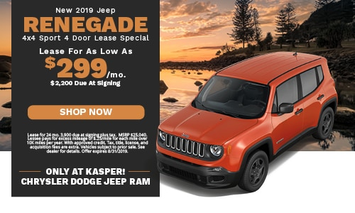 August | Jeep Renegade