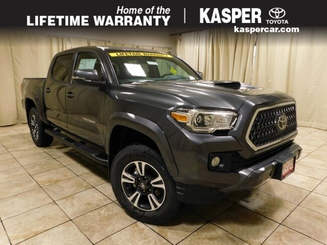 New 2019 Toyota Tacoma Truck Double Cab Magnetic Gray Metallic In