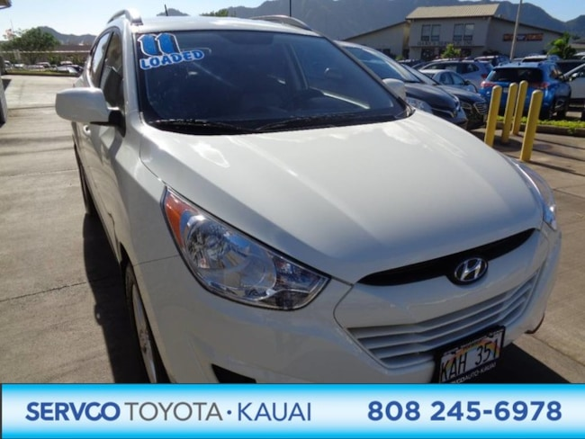 2011 Hyundai Tucson Limited PZEV SUV
