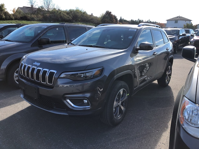 New 2019 Jeep New Cherokee Limited SUV Peterborough, ON