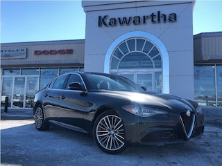 Used 2017 Alfa Romeo Giulia TI AWD-LUXURY LEATHER-SUNROOF-LUSSO PKG-GPS- Sedan in Peterborough