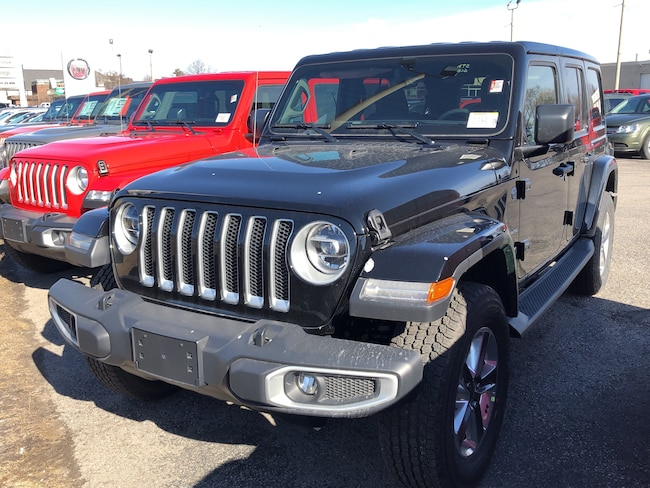 New 2019 Jeep Wrangler Unlimited Sahara SUV Peterborough, ON