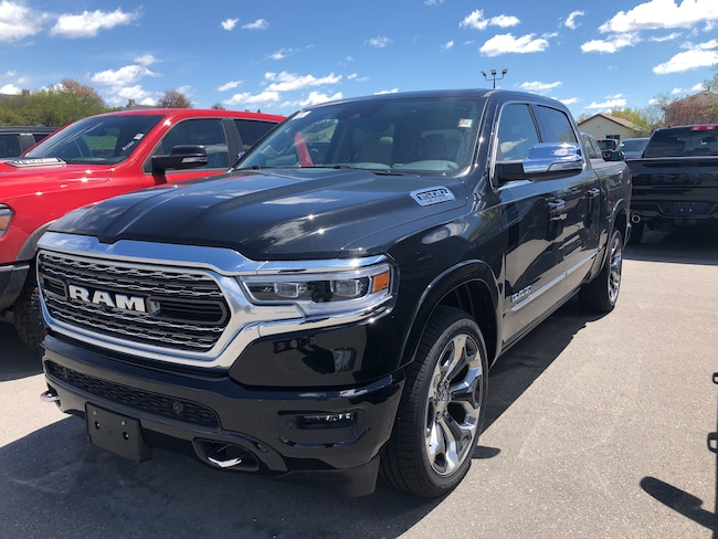 New 2019 Ram All-New 1500 Limited Truck Crew Cab Peterborough, ON