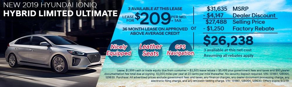 New 2019 Hyundai Specials | Kearny Mesa Hyundai | San Diego, CA