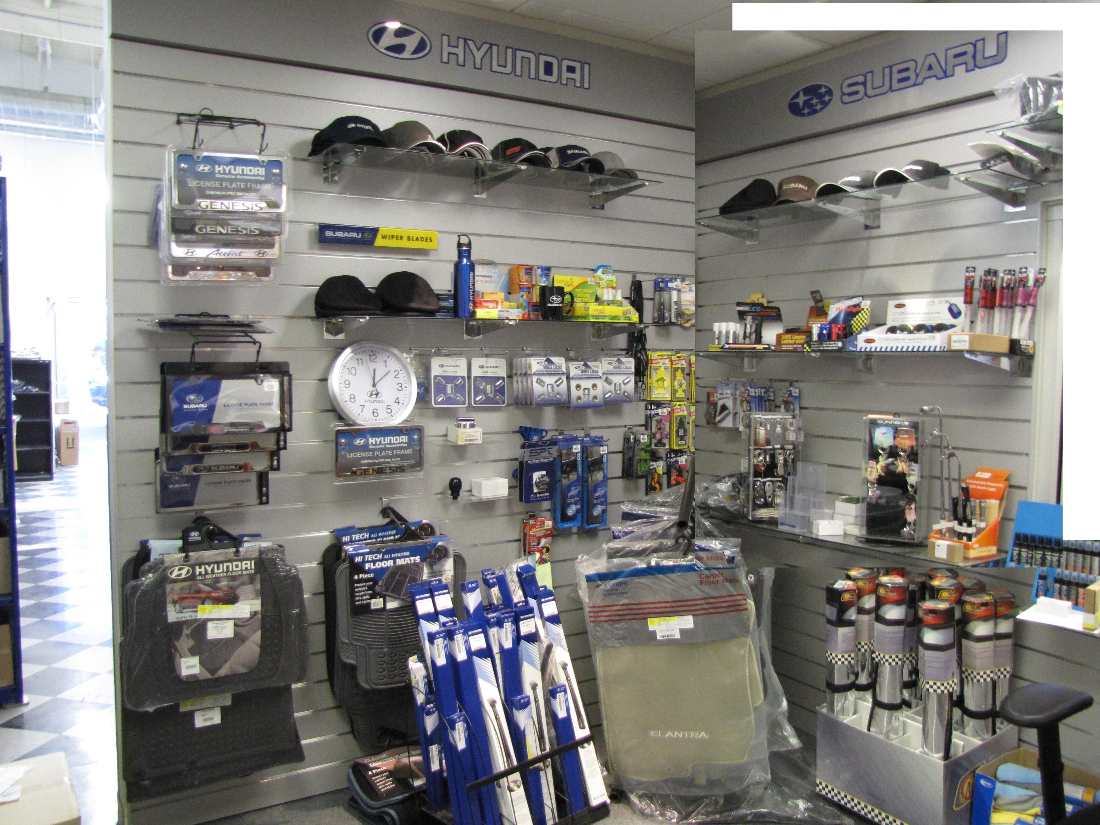 Hyundai & Subaru Accessories in stock at Kearny Mesa Subaru in San Diego